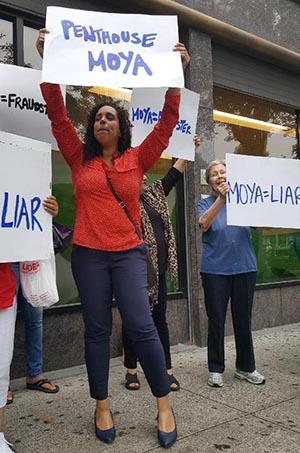 Erycka Montoya no logró reunir las firmas para ser candidata al concejo y ahora ataca a Moya y apoya a Monserrate, al igual que Leonel Letellier.