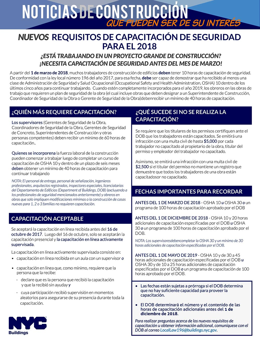 2018 Safety Requirements - SPANISH.pdf