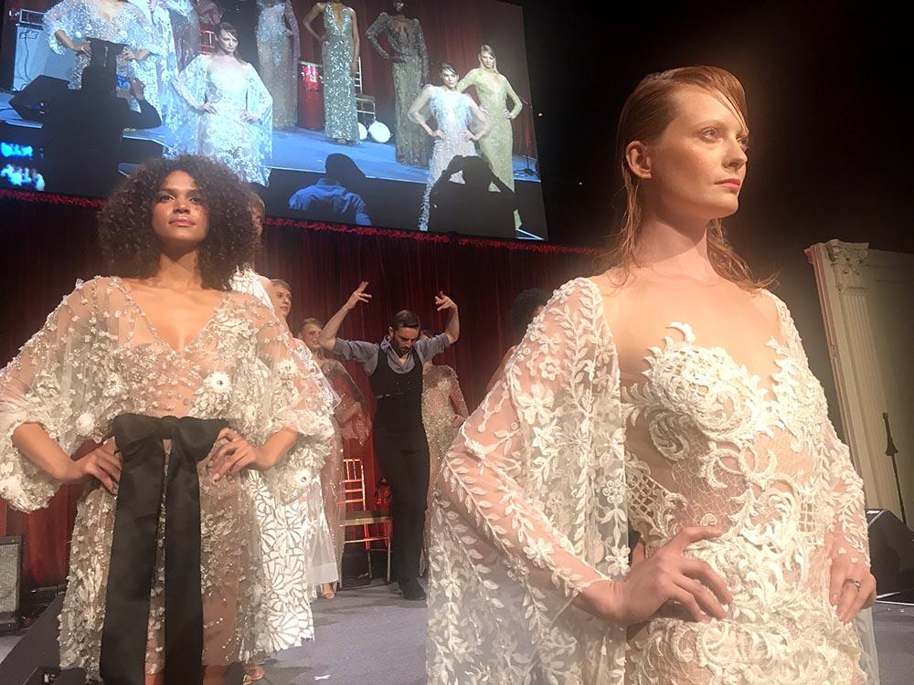 El desfile de moda estuvo a cargo de la diseñadora puertorriqueña Stella Nolasco. Foto Javier Castaño