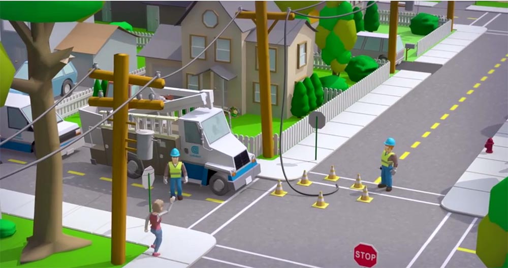 Image from Con Edison informative video.
