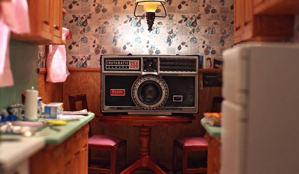 La cocina de la abuela Annette.