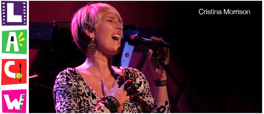 Jazz singer Cristina Morrison. Photo courtesy