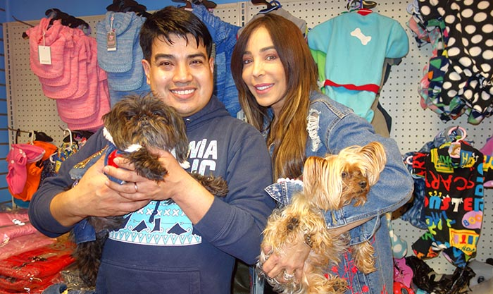 Dalila's Pet Grooming a la moda