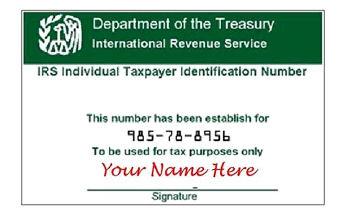Número ITIN para que indocumentados paguen impuestos