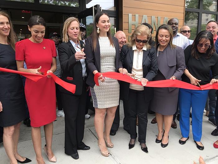 HANAC inaugura edificio en Corona