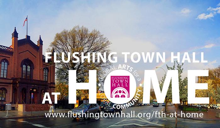 Flushing Town Hall en casa para las familias