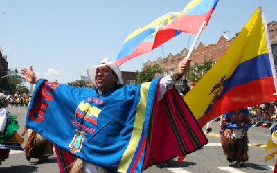 Desfile Ecuatoriano de NY este domingo 8 de agosto