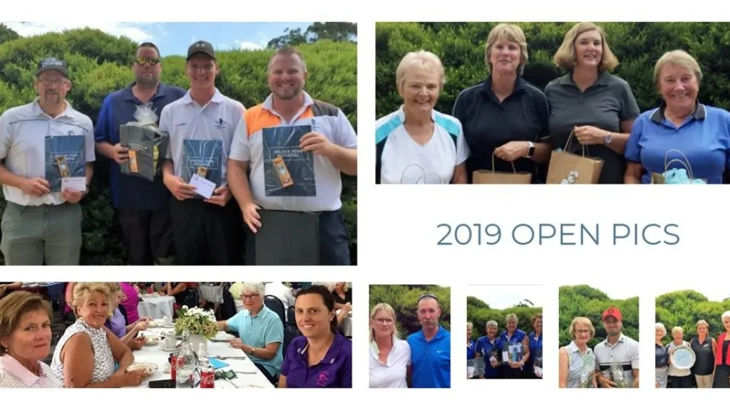 Images from the Queens Park Golf Club 2019 Open