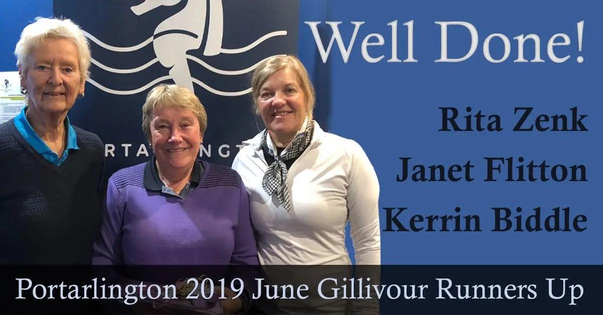 Well Done Rita, Janet & Kerrin!