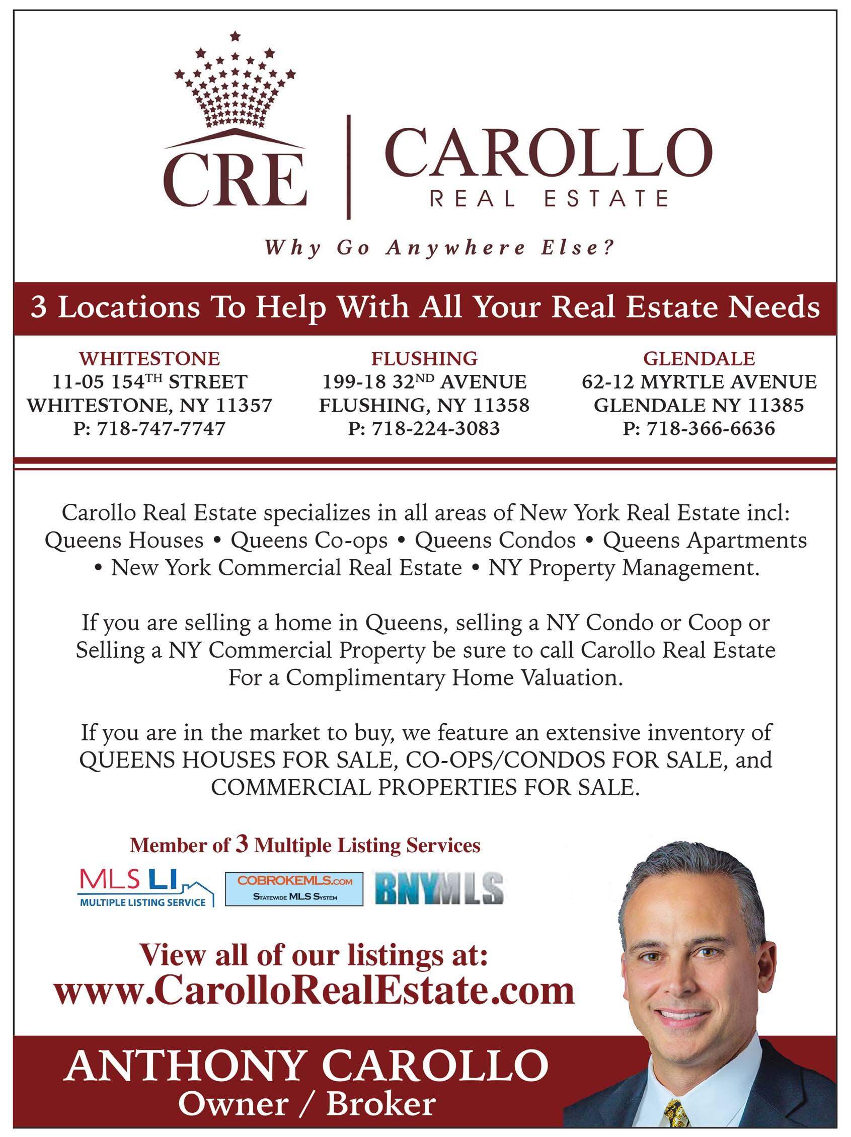 Carollo Real Estate Realtor Ad