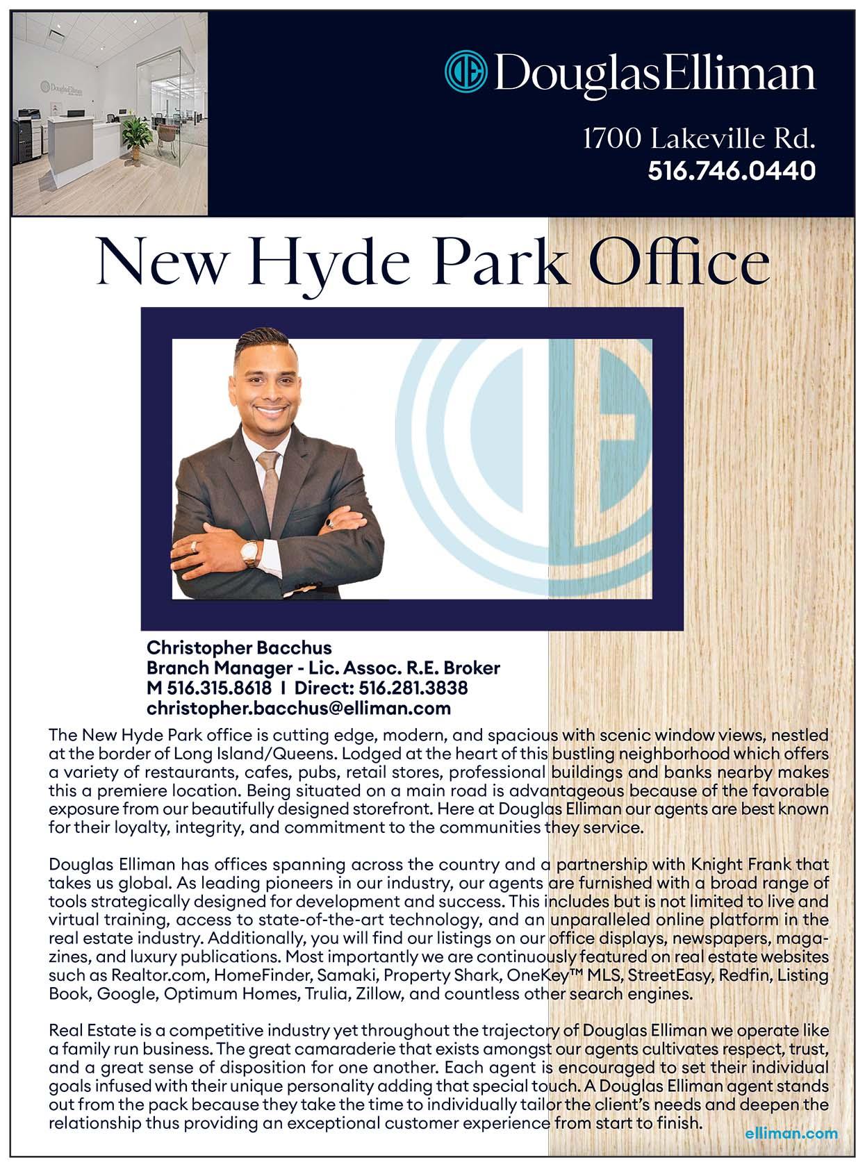 Douglas Elliman New Hyde Park Realtor Ad