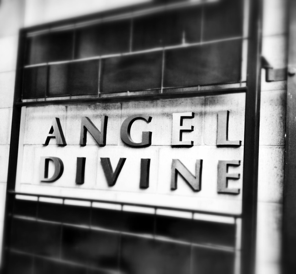 Angel Divine and an audience with Juliette Hogan