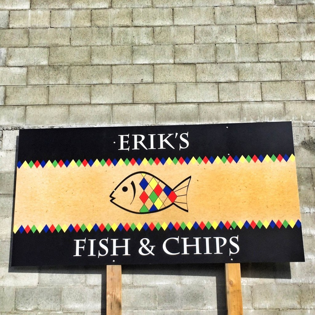eriks fish and chips Queenstown