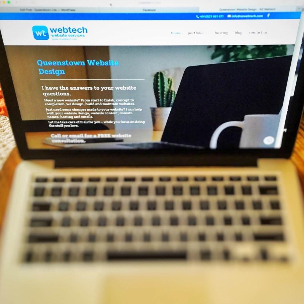 NZ Webtech Queenstown Web design