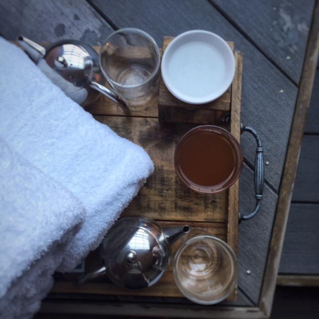 Apres soak with Onsen Hot Pools
