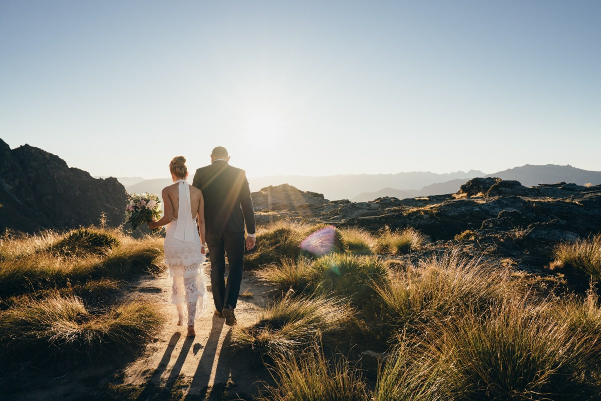 Queenstown elopement on Cecil Peak
