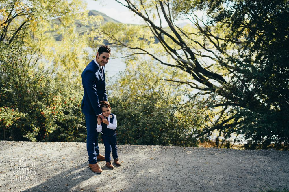 Queenstown lake Hayes elopement