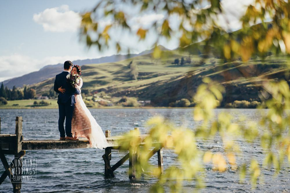 arrowtown elopement wedding