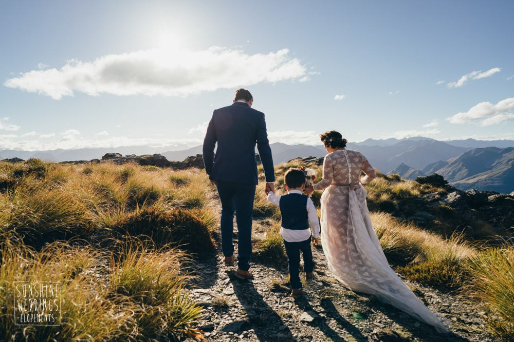 The Ledge family elopement wedding