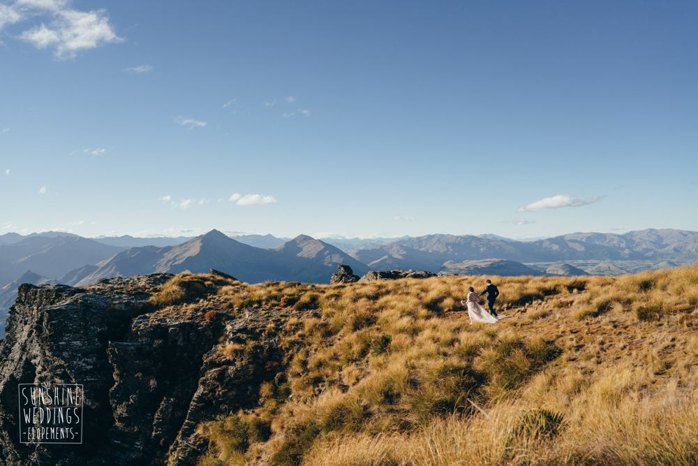 mountain wedding packages Cecil Peak Queenstown