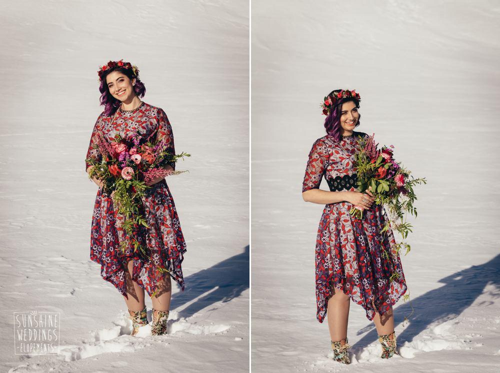 bridal bouquet Queenstown NZ