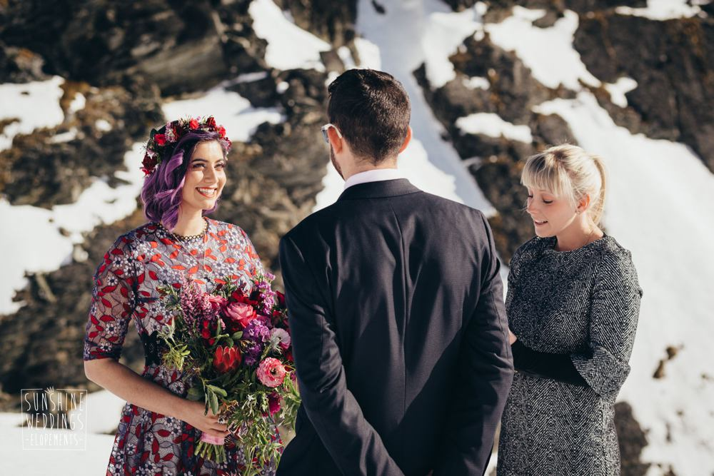 Your Big Day celebrant on The Remarkables Queenstown