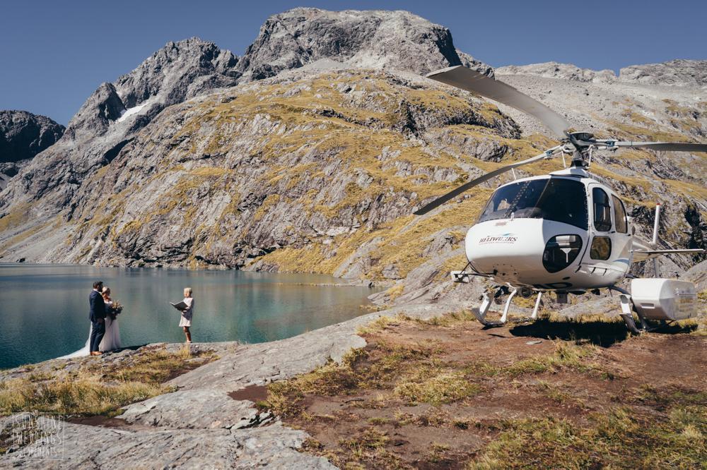 Helicopter Lake Erskine