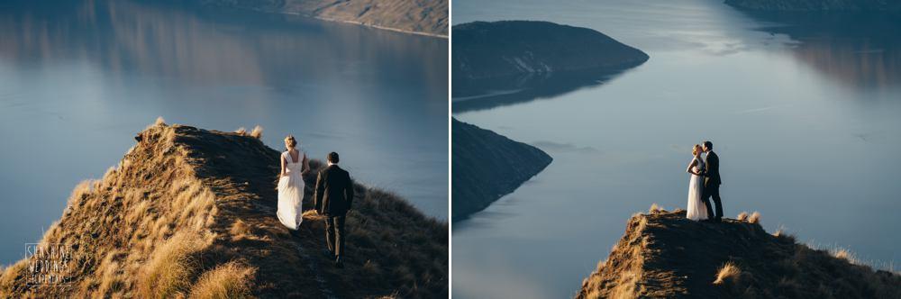 Coromandel peak wedding photographer NZ