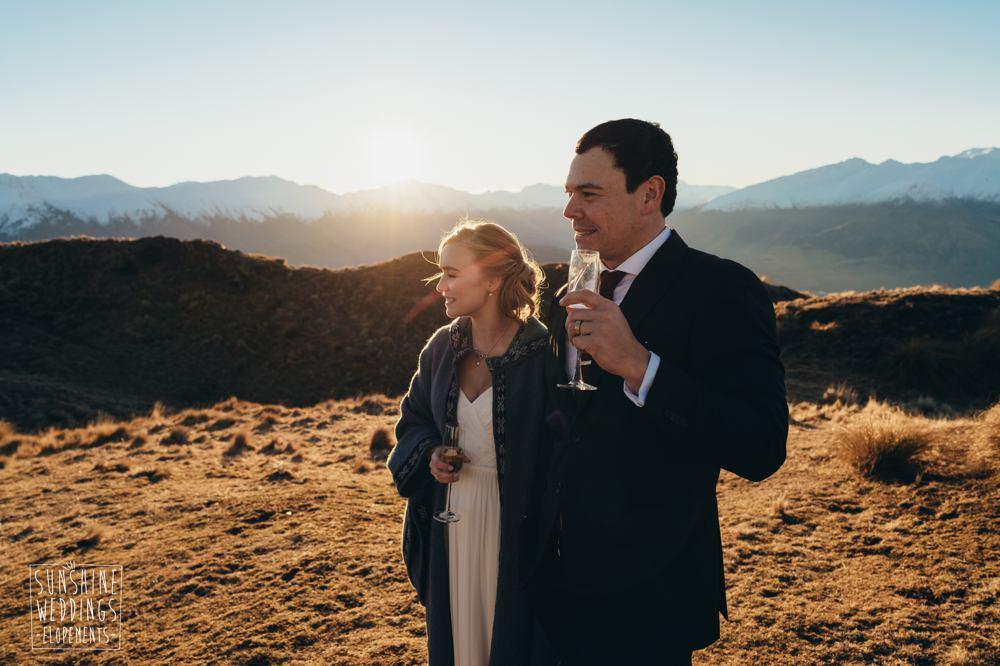 NZ mountain wedding photographer