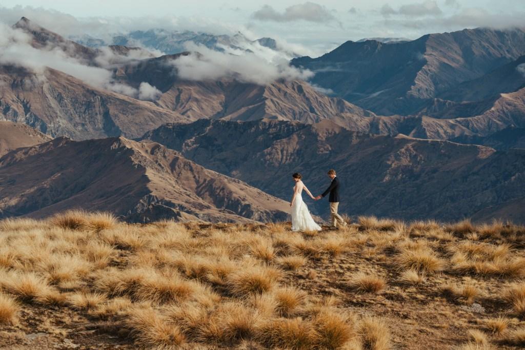 Cecil Peak Queenstown mountain wedding location