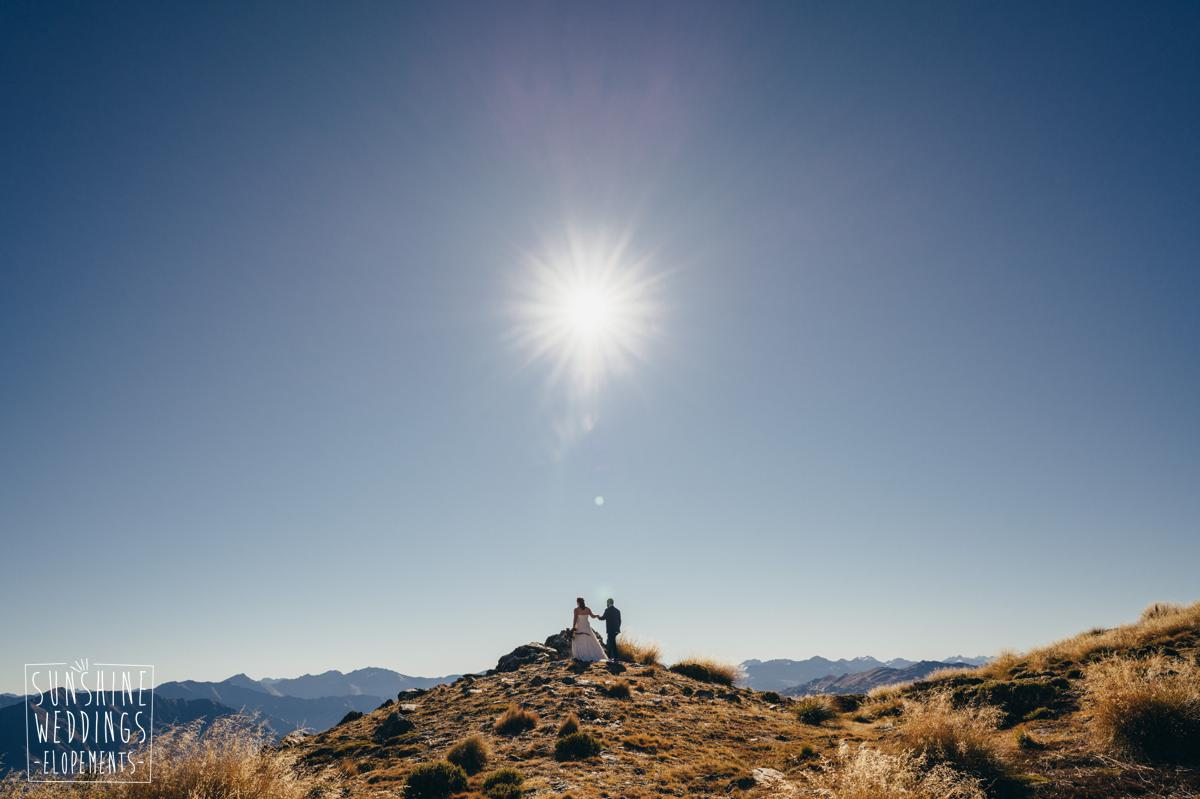 mountain wedding packages Queenstown