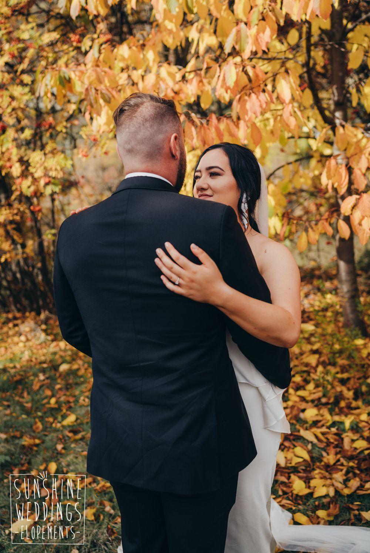 new zealand autumn wedding photography