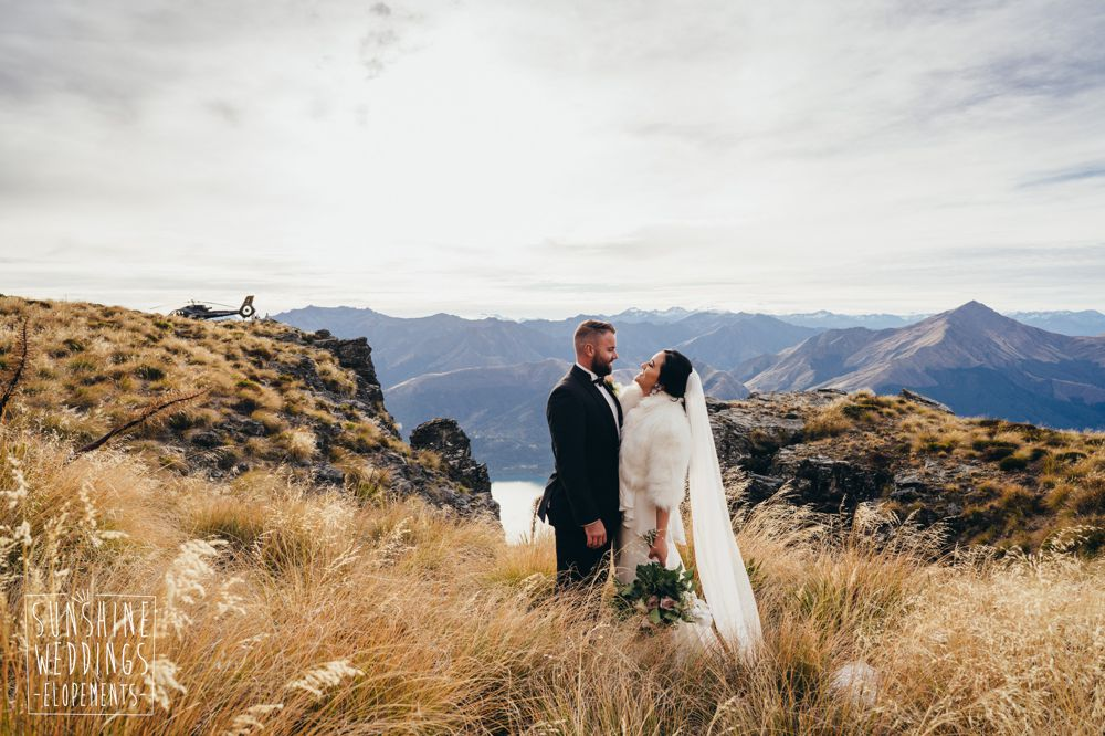 The Ledge elopement in New Zealand
