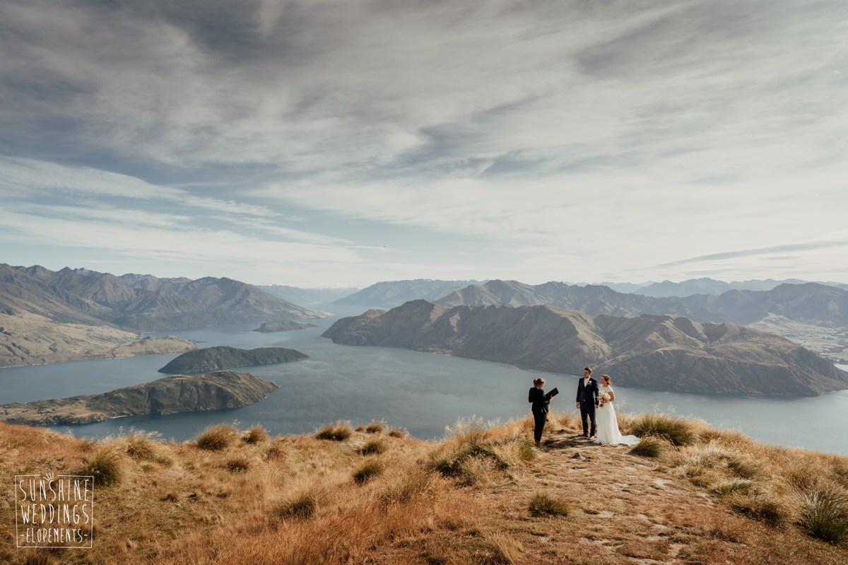 coromandel peak heliwedding packages