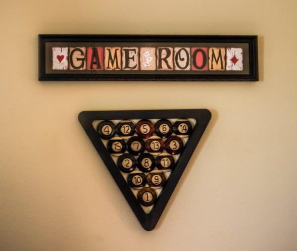 Game Room Framed Art