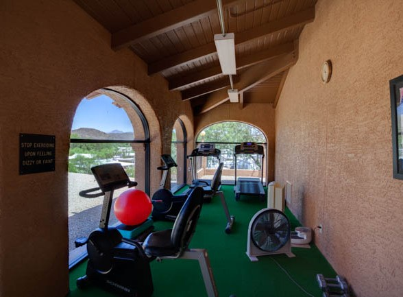 Queen Valley RV Resort's Fitness Center