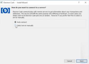 How To Install ElectronCash for BitcoinCash Transfer