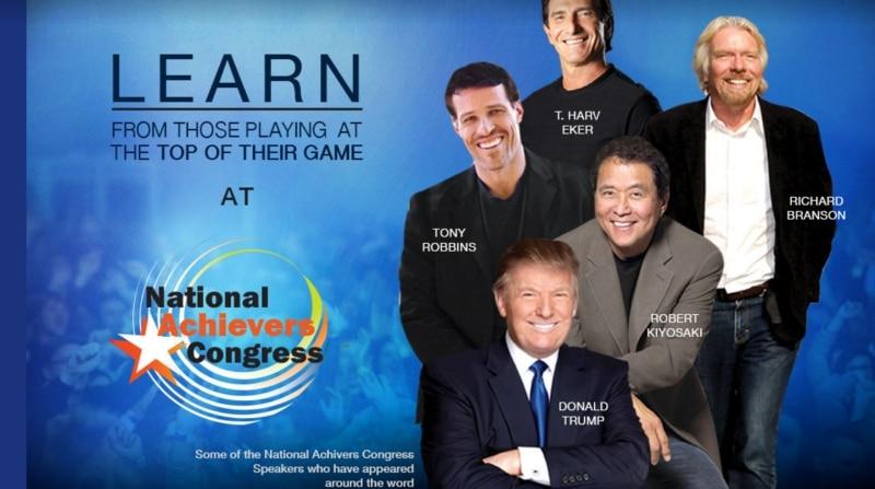 Success Life, Success Resources, Sir Richard Branson, Tony Robbins, Robert Kiyosaki