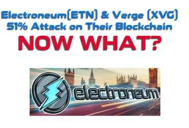 Electroneum and Verge 51% attack