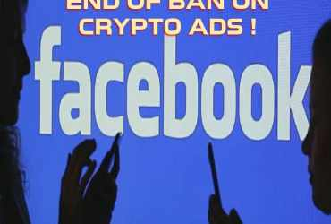 Facebook Ends Ban on Cryptocurrency Ads