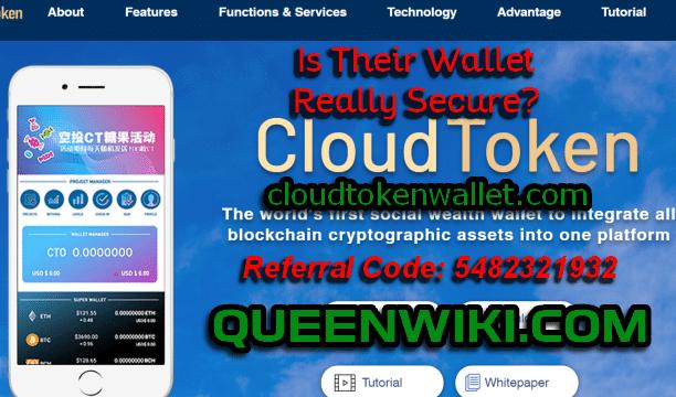 Cloud Token Mobile Wallet Security