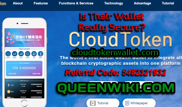 Cloud Token Mobile Wallet Security