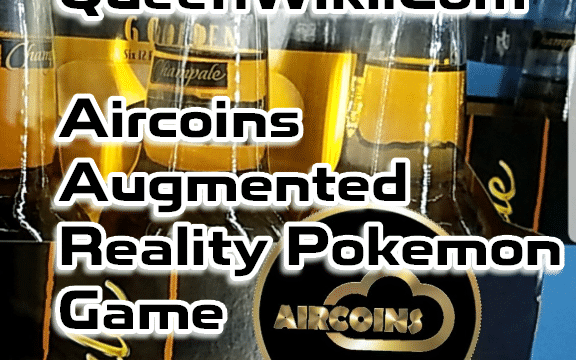 Aircoins Augmented Reality App