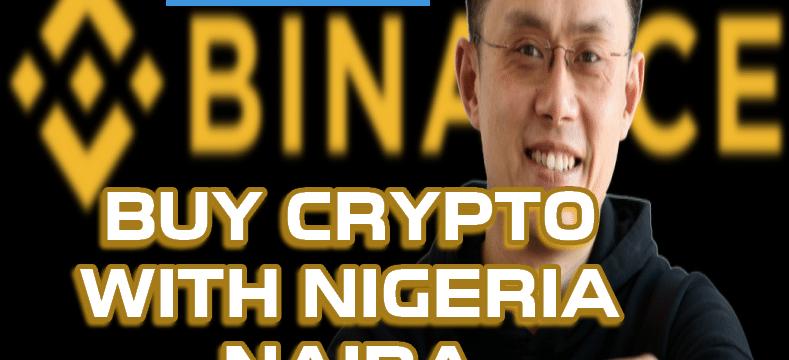 Binance buy crypto BTC with naira NGN flutterwave