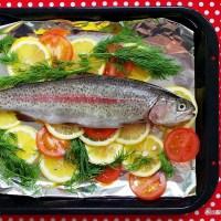 Cá tuyết nướng - Citrus Grilled Sea Bass