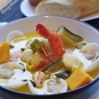 Cà ri hải sản - Seafood Curry Vietnamese style