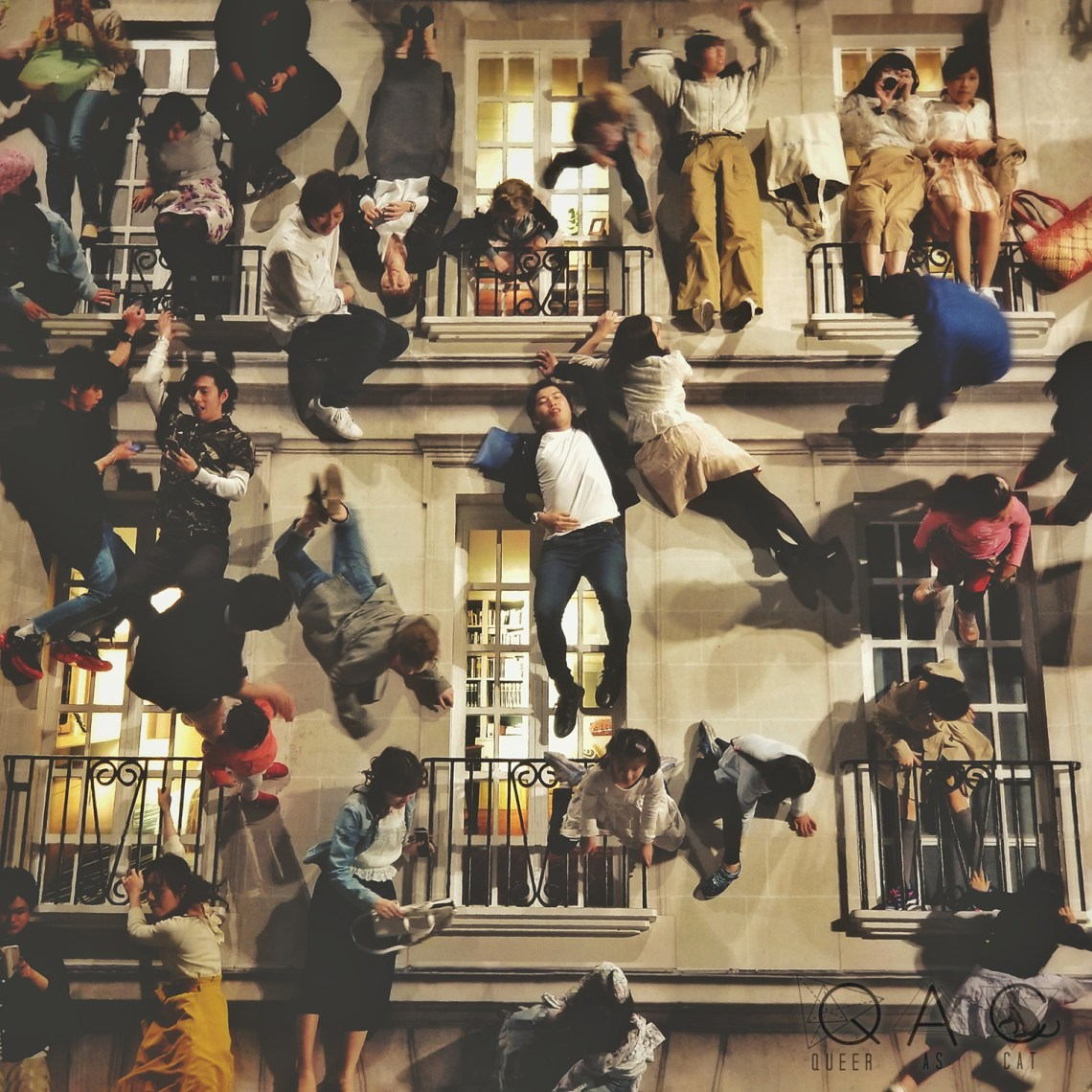 """""""Building"""" by LEANDRO ERLICH (2017) taken at Mori Art Museum 2018"""