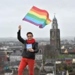 Orla rainbow flag Shandon