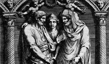 Nero's Wedding to Pythagoras (with Nero as the bride)