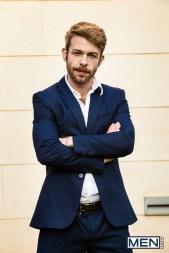 Gabriel Phoenix in suit